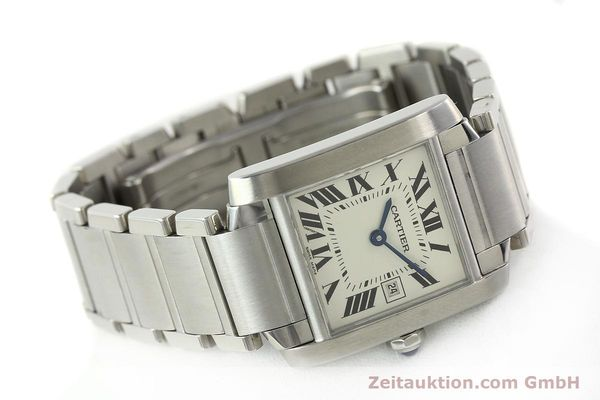 Used luxury watch Cartier Tank Francaise steel quartz Kal. 175N  | 141439 03