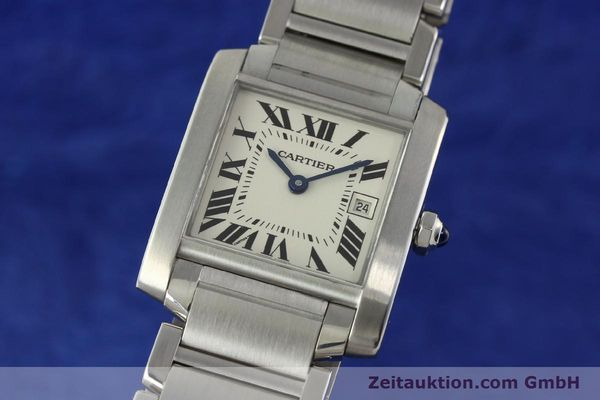 Used luxury watch Cartier Tank Francaise steel quartz Kal. 175N  | 141439 04
