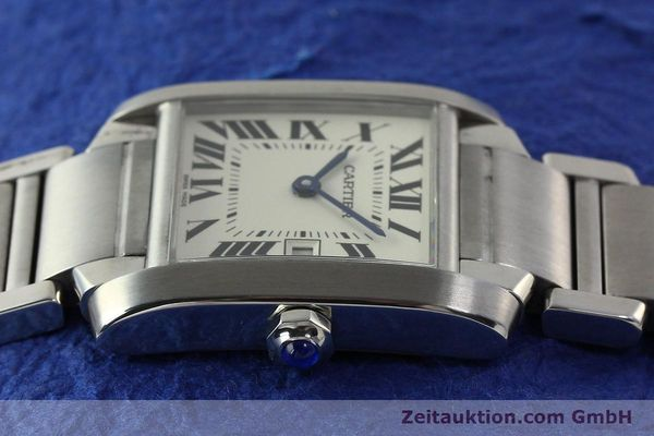 Used luxury watch Cartier Tank Francaise steel quartz Kal. 175N  | 141439 05