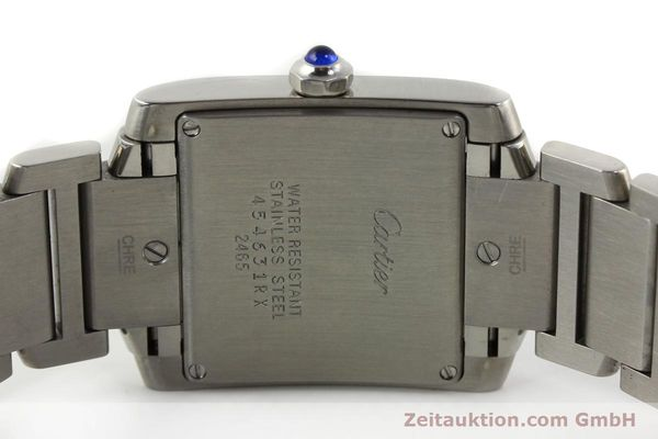 Used luxury watch Cartier Tank Francaise steel quartz Kal. 175N  | 141439 09