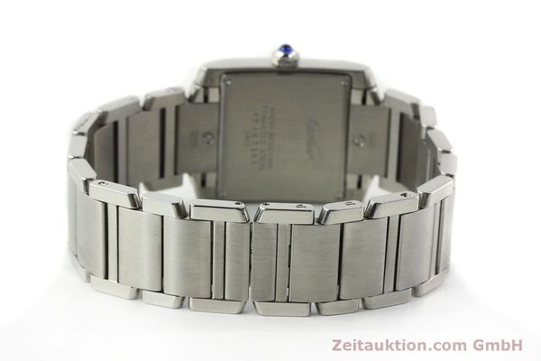Used luxury watch Cartier Tank Francaise steel quartz Kal. 175N  | 141439 10
