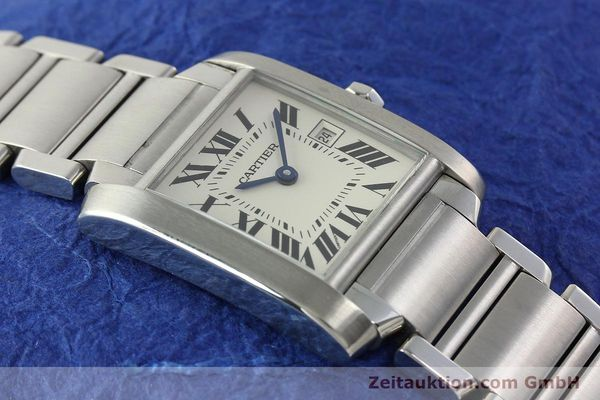 Used luxury watch Cartier Tank Francaise steel quartz Kal. 175N  | 141439 13