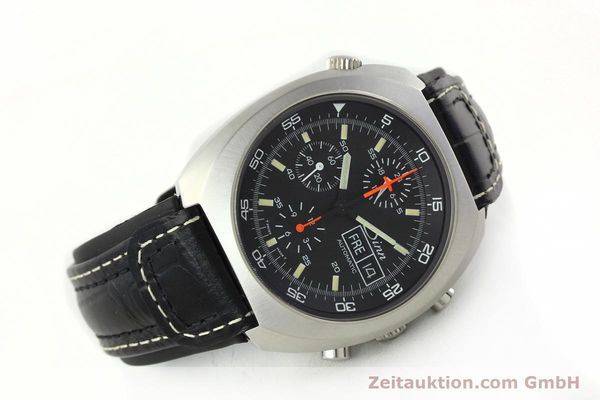 Used luxury watch Sinn D1 Mission chronograph steel automatic Kal. LWO 5100  | 141442 03
