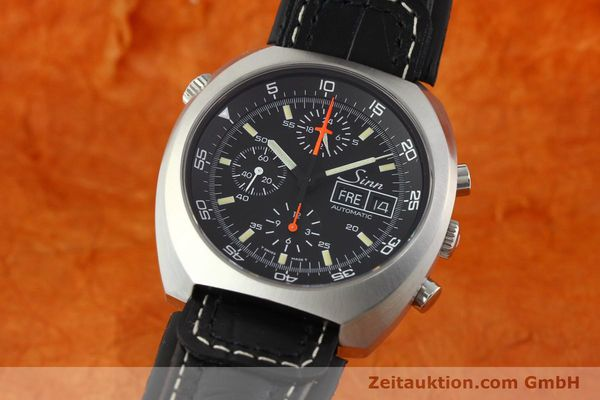 Used luxury watch Sinn D1 Mission chronograph steel automatic Kal. LWO 5100  | 141442 04