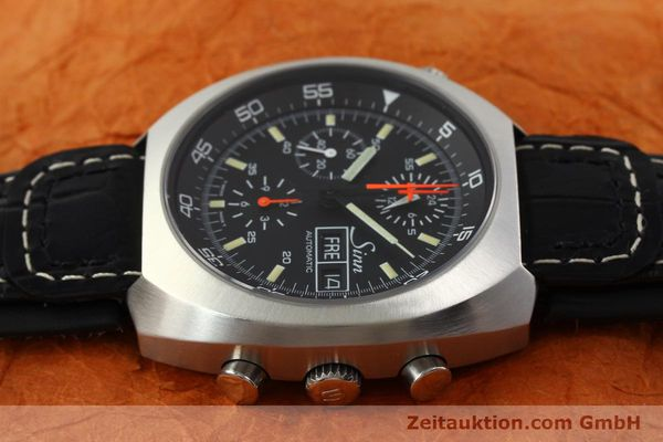 Used luxury watch Sinn D1 Mission chronograph steel automatic Kal. LWO 5100  | 141442 05