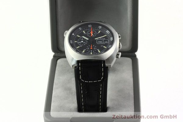 Used luxury watch Sinn D1 Mission chronograph steel automatic Kal. LWO 5100  | 141442 07