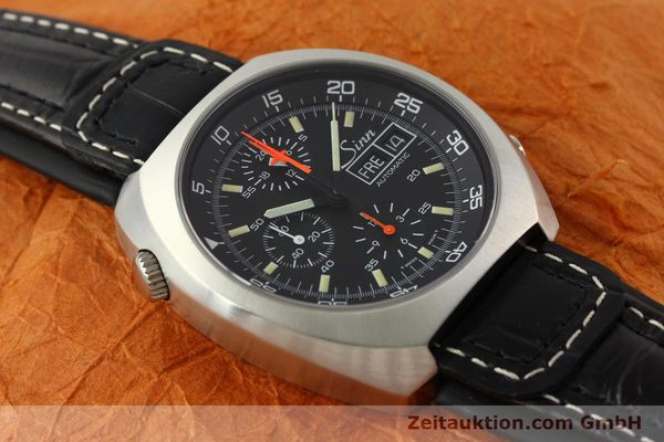 Used luxury watch Sinn D1 Mission chronograph steel automatic Kal. LWO 5100  | 141442 13