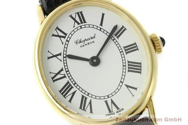Used luxury watch Chopard * 18 ct gold manual winding Kal. ETA 2512 Ref. 5075  | 141446 02
