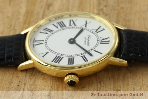 Used luxury watch Chopard * 18 ct gold manual winding Kal. ETA 2512 Ref. 5075  | 141446 05