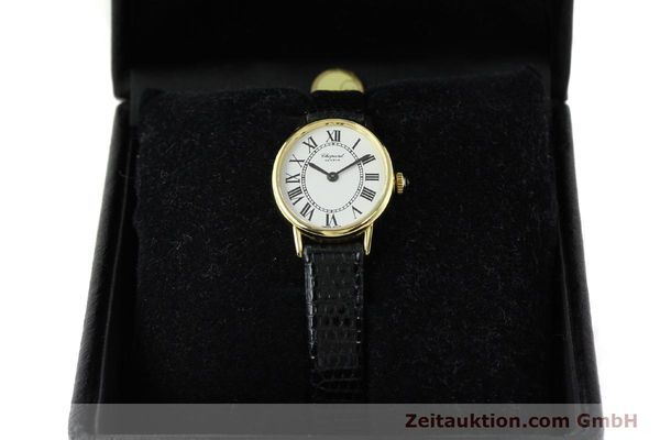 Used luxury watch Chopard * 18 ct gold manual winding Kal. ETA 2512 Ref. 5075  | 141446 07