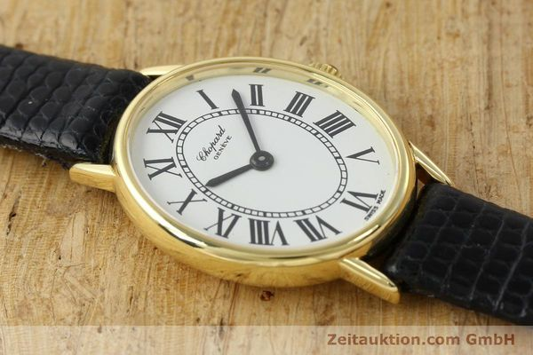 Used luxury watch Chopard * 18 ct gold manual winding Kal. ETA 2512 Ref. 5075  | 141446 13