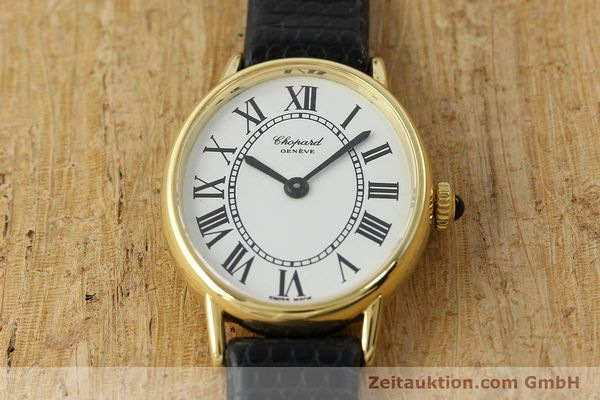 Used luxury watch Chopard * 18 ct gold manual winding Kal. ETA 2512 Ref. 5075  | 141446 14