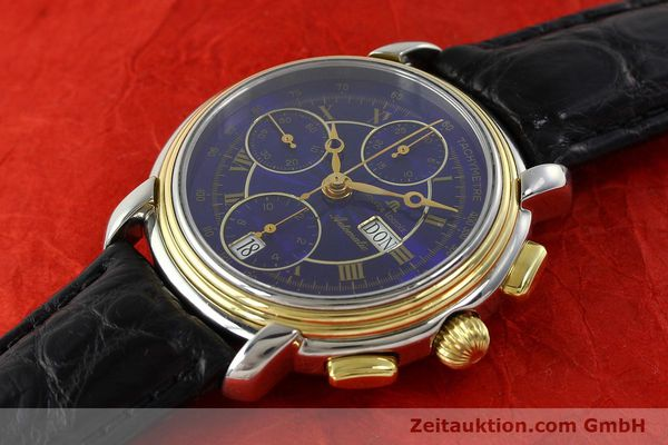 Used luxury watch Maurice Lacroix Masterpiece chronograph steel / gold automatic Kal. ETA 7750 Ref. 67413  | 141449 01