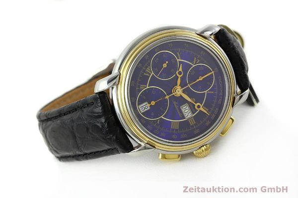 Used luxury watch Maurice Lacroix Masterpiece chronograph steel / gold automatic Kal. ETA 7750 Ref. 67413  | 141449 03