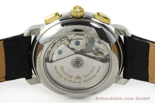 Used luxury watch Maurice Lacroix Masterpiece chronograph steel / gold automatic Kal. ETA 7750 Ref. 67413  | 141449 09
