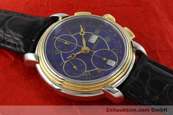 Used luxury watch Maurice Lacroix Masterpiece chronograph steel / gold automatic Kal. ETA 7750 Ref. 67413  | 141449 13