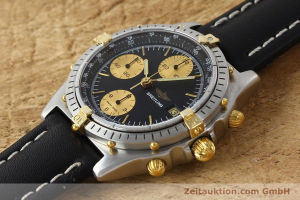 Used luxury watch Breitling Chronomat chronograph gilt steel automatic Kal. VAL 7750 Ref. 81.950  | 141453 01