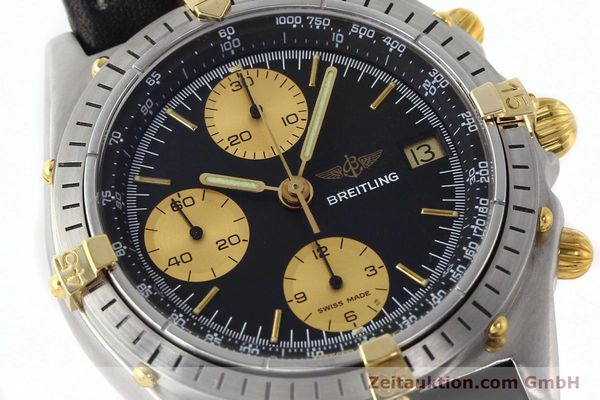 Used luxury watch Breitling Chronomat chronograph gilt steel automatic Kal. VAL 7750 Ref. 81.950  | 141453 02