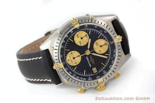 Used luxury watch Breitling Chronomat chronograph gilt steel automatic Kal. VAL 7750 Ref. 81.950  | 141453 03