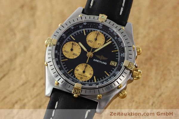 Used luxury watch Breitling Chronomat chronograph gilt steel automatic Kal. VAL 7750 Ref. 81.950  | 141453 04
