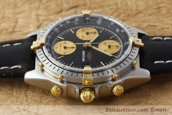Used luxury watch Breitling Chronomat chronograph gilt steel automatic Kal. VAL 7750 Ref. 81.950  | 141453 05