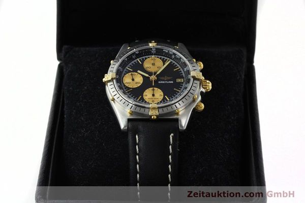 Used luxury watch Breitling Chronomat chronograph gilt steel automatic Kal. VAL 7750 Ref. 81.950  | 141453 07
