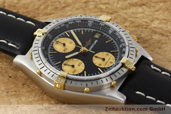 Used luxury watch Breitling Chronomat chronograph gilt steel automatic Kal. VAL 7750 Ref. 81.950  | 141453 13