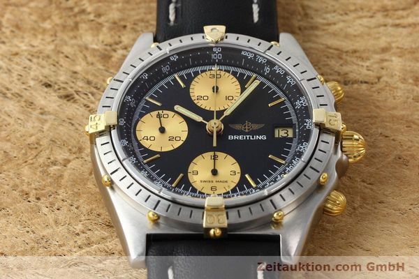Used luxury watch Breitling Chronomat chronograph gilt steel automatic Kal. VAL 7750 Ref. 81.950  | 141453 14