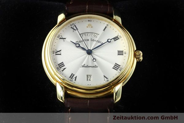 Used luxury watch Maurice Lacroix * gold-plated automatic Kal. ETA 2836-2 Ref. 09329  | 141454 07