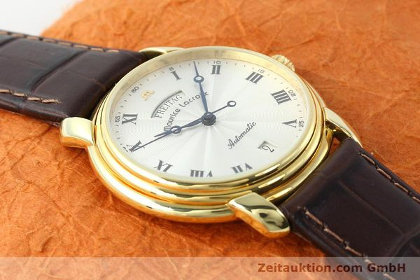 Used luxury watch Maurice Lacroix * gold-plated automatic Kal. ETA 2836-2 Ref. 09329  | 141454 12