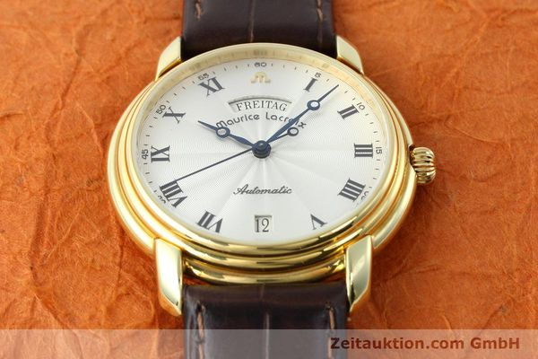 Used luxury watch Maurice Lacroix * gold-plated automatic Kal. ETA 2836-2 Ref. 09329  | 141454 13