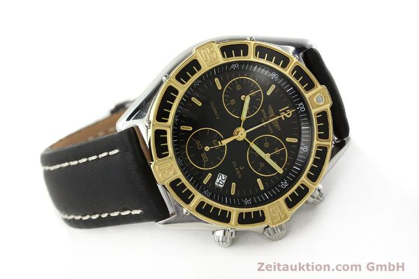 Used luxury watch Breitling J-Class chronograph steel / gold quartz Kal. B53 ETA 251262 Ref. 80290D53067  | 141455 03