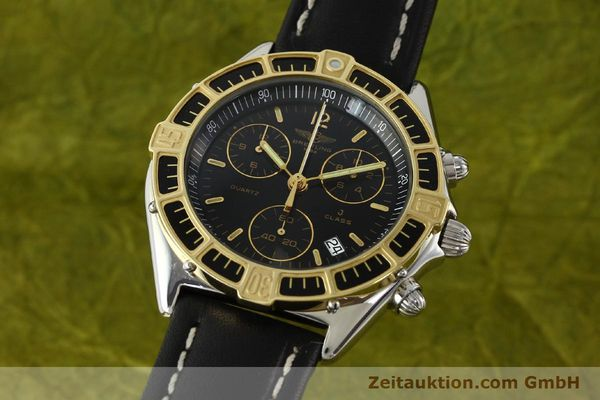 Used luxury watch Breitling J-Class chronograph steel / gold quartz Kal. B53 ETA 251262 Ref. 80290D53067  | 141455 04