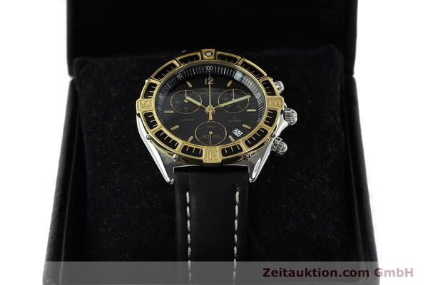 Used luxury watch Breitling J-Class chronograph steel / gold quartz Kal. B53 ETA 251262 Ref. 80290D53067  | 141455 07
