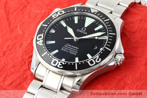 Used luxury watch Omega Seamaster steel automatic Kal. 1120 Ref. 22545000  | 141456 01
