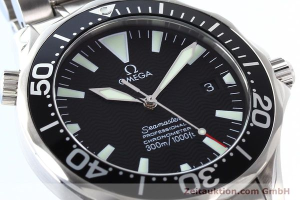 Used luxury watch Omega Seamaster steel automatic Kal. 1120 Ref. 22545000  | 141456 02