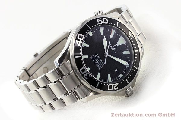 Used luxury watch Omega Seamaster steel automatic Kal. 1120 Ref. 22545000  | 141456 03
