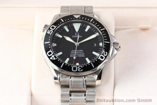 Used luxury watch Omega Seamaster steel automatic Kal. 1120 Ref. 22545000  | 141456 07