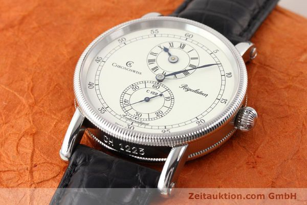 Used luxury watch Chronoswiss Regulateur steel automatic Kal. C.122 Ref. CH1223  | 141459 01