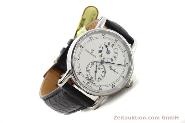 Used luxury watch Chronoswiss Regulateur steel automatic Kal. C.122 Ref. CH1223  | 141459 03