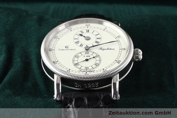 Used luxury watch Chronoswiss Regulateur steel automatic Kal. C.122 Ref. CH1223  | 141459 07