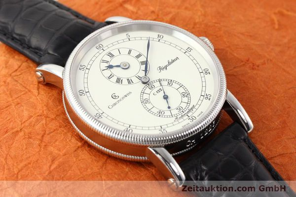 Used luxury watch Chronoswiss Regulateur steel automatic Kal. C.122 Ref. CH1223  | 141459 15