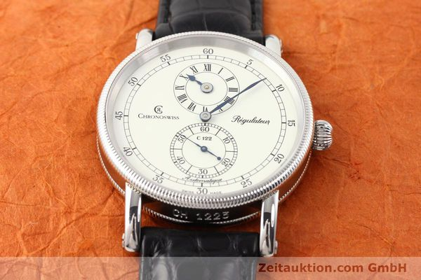 Used luxury watch Chronoswiss Regulateur steel automatic Kal. C.122 Ref. CH1223  | 141459 16