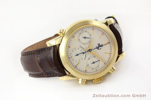 Used luxury watch Girard Perregaux Ferrari chronograph 18 ct gold automatic Kal. 8290 Ref. 9015  | 141461 03