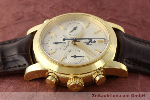 Used luxury watch Girard Perregaux Ferrari chronograph 18 ct gold automatic Kal. 8290 Ref. 9015  | 141461 05