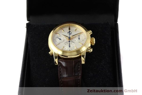Used luxury watch Girard Perregaux Ferrari chronograph 18 ct gold automatic Kal. 8290 Ref. 9015  | 141461 07