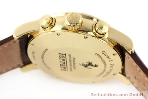 Used luxury watch Girard Perregaux Ferrari chronograph 18 ct gold automatic Kal. 8290 Ref. 9015  | 141461 12
