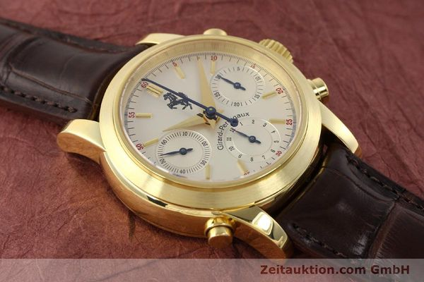Used luxury watch Girard Perregaux Ferrari chronograph 18 ct gold automatic Kal. 8290 Ref. 9015  | 141461 19