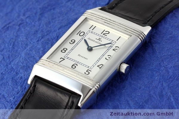 Used luxury watch Jaeger Le Coultre Reverso steel manual winding Kal. 846/1 Ref. 250.8.86  | 141463 01