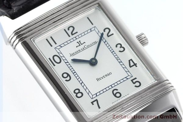 Used luxury watch Jaeger Le Coultre Reverso steel manual winding Kal. 846/1 Ref. 250.8.86  | 141463 02